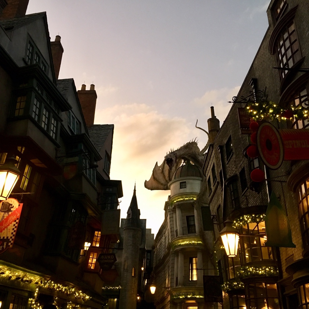 image: author photo of the Wizarding World of Harry Potter